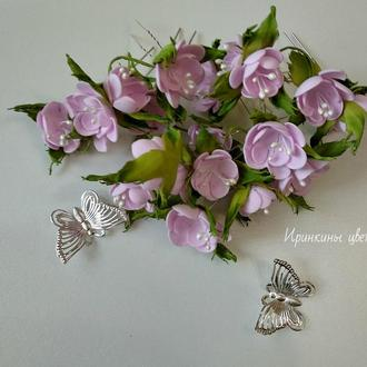 Цветы на шпильках