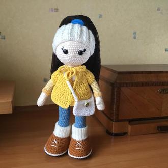 Кукла вязаная, амигуруми