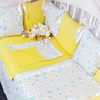 Бортики подушки (защита в кроватку)