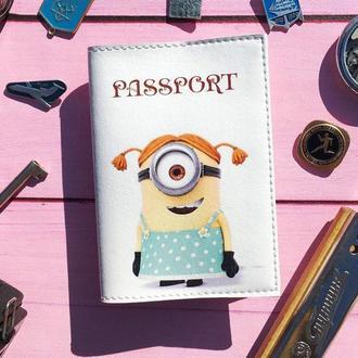 Обложка на паспорт, Миньон, паспортная обложка, обложка для паспорта