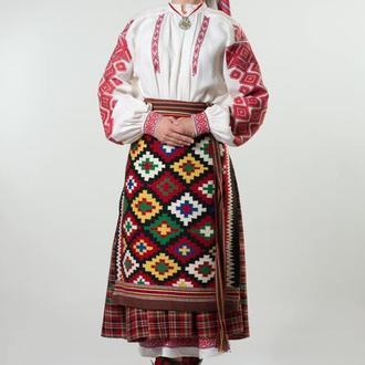 Костюм з Овручу  (Коростеню) Житомирської області. Кінець 19  початок 20ст