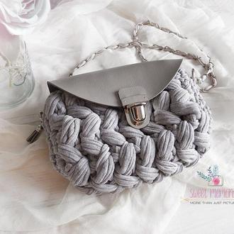 Сіра сумка