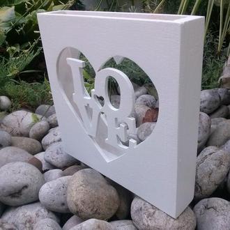 короб для песочной церемонии