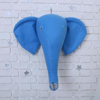 Декор Слон синий