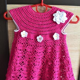 Фіалковий набір із сукні та шапочки ручной работы купить в Украине ... c458bb16e2691