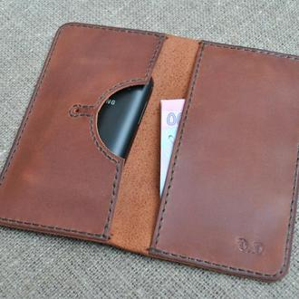 Стильный кожаный чехол для телефона H09-210