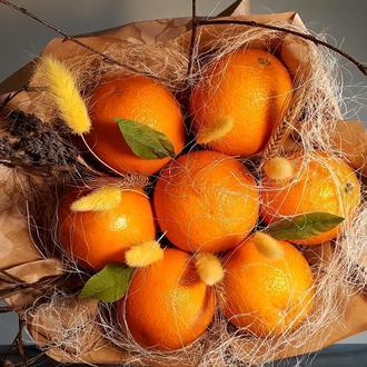 Вкусные букеты из фруктов