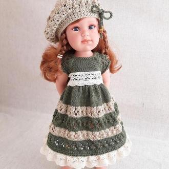 Одежда для кукол. Платье на куклу Лоренс 42 см