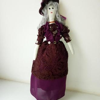 """Кукла """"Маркиза"""" в стиле тильда текстильная, интерьерная"""