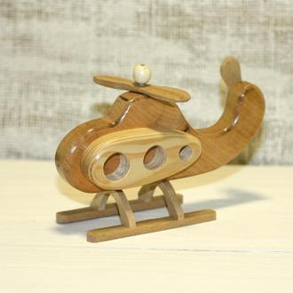 Деревянная игрушка Вертолет