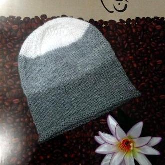 Новая шапочка для девочек 4-5 лет