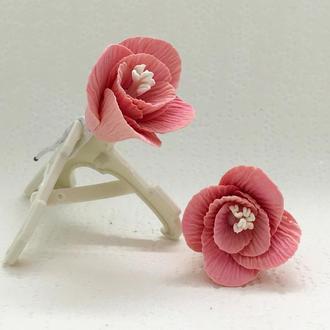 Шпильки для волос «Розовый водопад».
