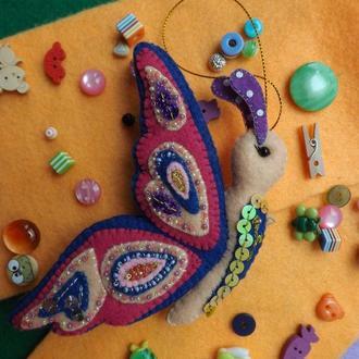 Объемные фетровые игрушки