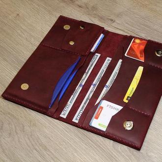 Тревел кейс - клатч, кошелек, портмоне 3 в 1.
