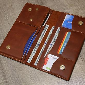 Тревел кейс — клатч, кошелек, портмоне 3 в 1.