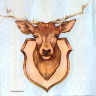 Салфетка для декупажа 33 х 33 Благородный олень