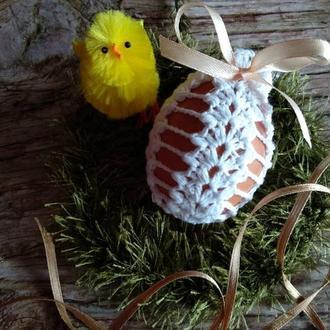 В'язані декор на великоднє яйце