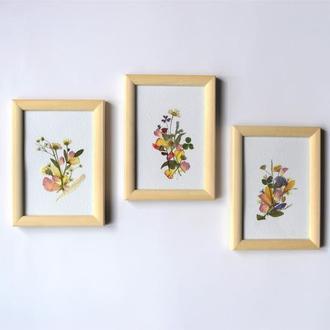 Набір картин - весняні композиції