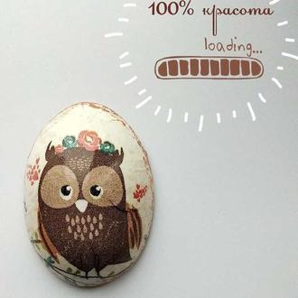 "Магнит - яйцо "" 100% красота"""