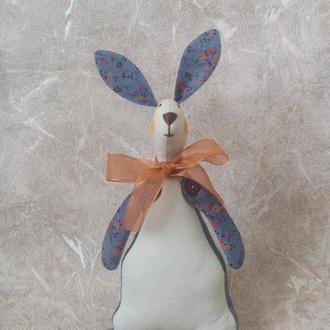 Пасхальный заяц, кролик Тильда, интерьерная игрушка, ручная работа