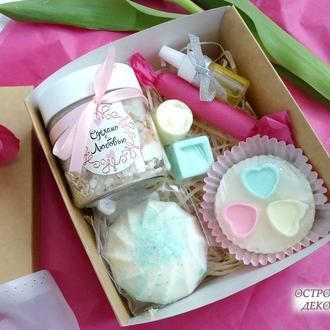 Подарочный набор beauty box «Sweet life», подарок для девушки