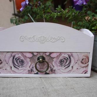 Комод для косметики Троянди