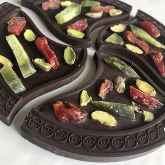 Шоколадная пицца (темный шоколад)
