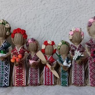 "Handmade, Motovka doll Bereginya, Подарок-оберег в дом. Кукла-мотанка ""Берегиня"""