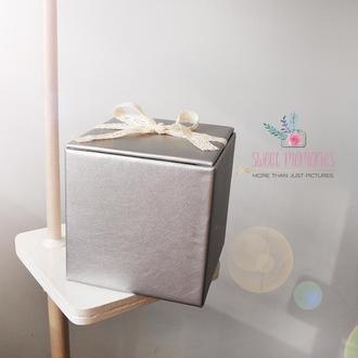 Cрібляста коробочка