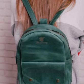 """Рюкзак """"OvalPack"""" шкіряний рюкзак"""