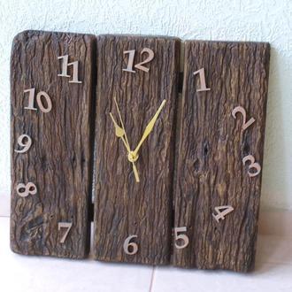 Часы настенные арт. «027Д-1». Дерево, состаренное.