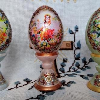 """Набор пасхальных интерьерных яиц """" Веснянки"""""""