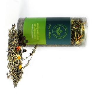 """Успокаивающий травяной фито чай Zhygun Herbs """"Добрейший вечерочек""""."""