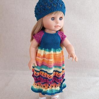 Одяг для ляльок. Сукню на ляльку Паола Рейну 40 см