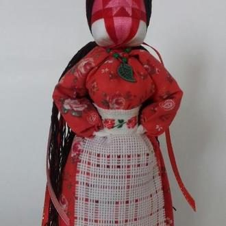 "Кукла-мотанка ""Берегиня"" (Веста) Подарок-оберег в дом."