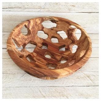 Фруктовниця з дерева