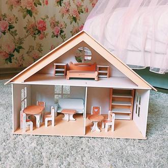 """Кукольный домик """"Спелая дынька"""".домик для кукол ляльковий будиночок"""