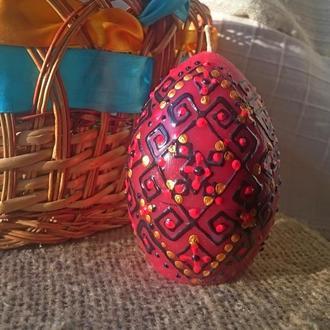 Свічка - Яйце Свічечка в кошик.