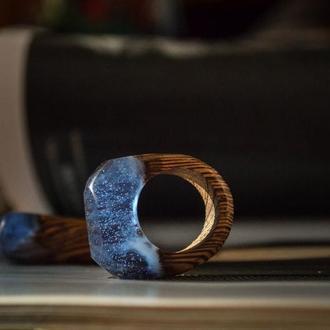Перстень ручної роботи від майстерні shape wood