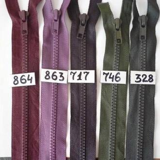 07- Тракторная молния для одежды тип 5 - 55см