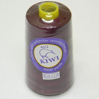 125-Нитки швейные 40/2 4000 ярдов Kiwi (киви)