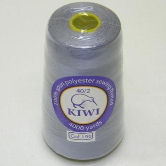 190-Нитки швейные 40/2 4000 ярдов Kiwi (киви)
