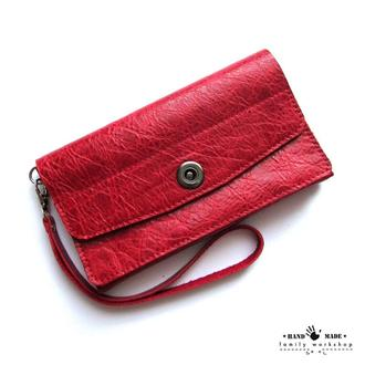 Женский кошелек из натуральной кожи ручной работы