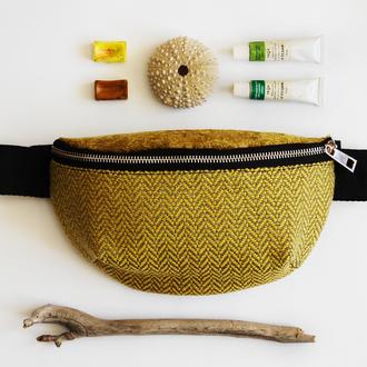 Дизайнерская поясная сумка
