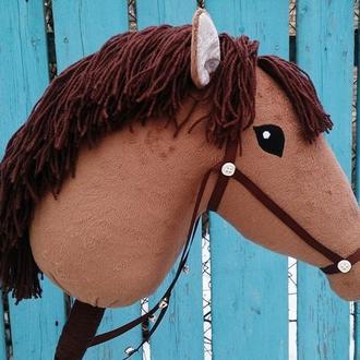 лошадка на палке, лошадка на палочке