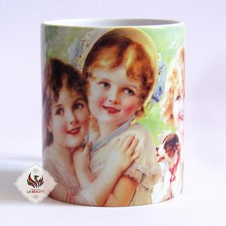 Керамическая кружка / чашка Очаровательные дети