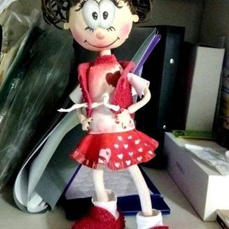 Кукла из фоамирана (фома) - Фофуча