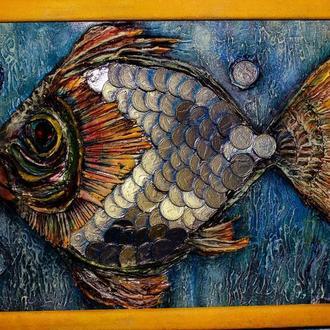 Панно Денежная рыба