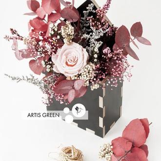 """Эко-конвертик из стабилизированных растений и цветов """"Autumn"""" - отличный корпоративный подарок"""