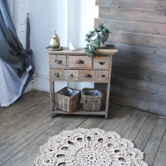Вязаной коврик